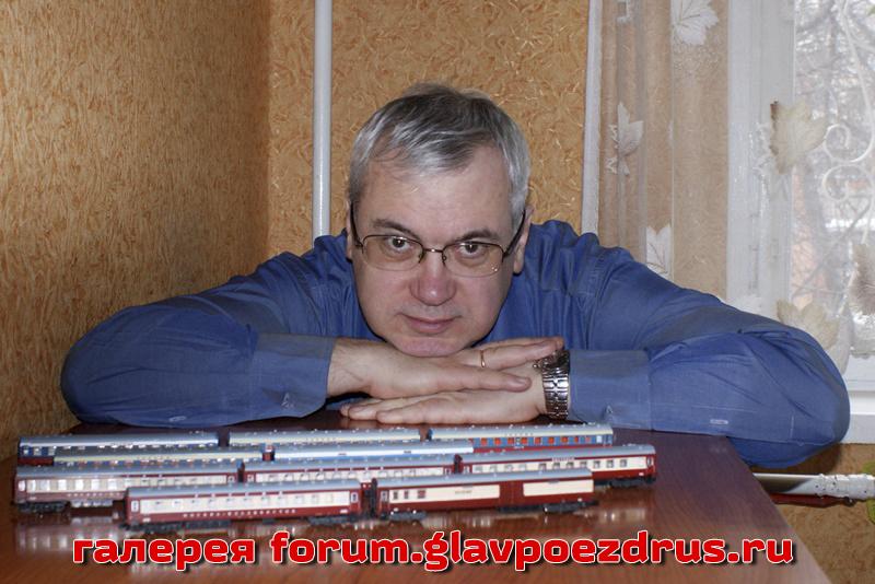 Андрей Шарапов знает все о настоящих фирменных поездах страны.