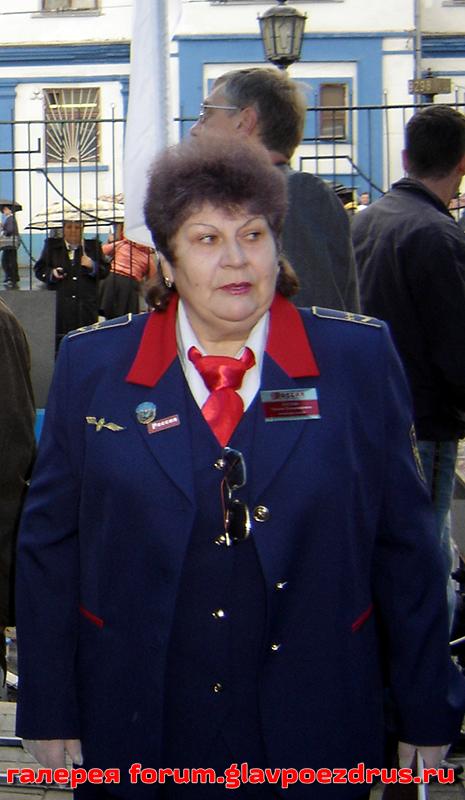 Кустова Татьяна - ветеран Вагонного участка Москва-Ярославская