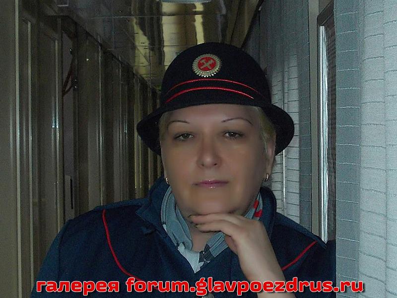 Субботина Татьяна – гордится своей работой на поезде «РОССИЯ».